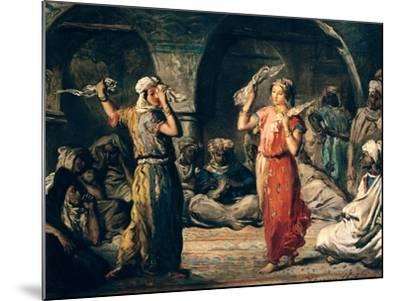 Dance of the Handkerchiefs, 1849-Theodore Chasseriau-Mounted Giclee Print