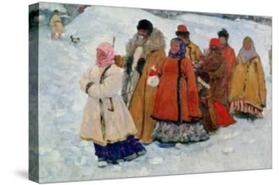A Family, 1909-Sergej Vasilevic Ivanov-Stretched Canvas Print