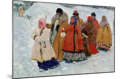 A Family, 1909-Sergej Vasilevic Ivanov-Mounted Giclee Print