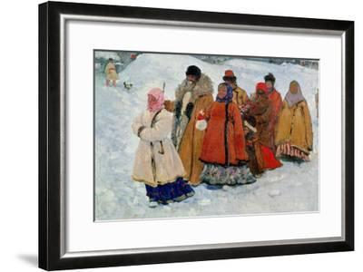 A Family, 1909-Sergej Vasilevic Ivanov-Framed Giclee Print