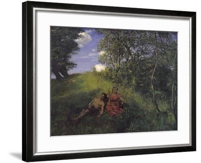 Siesta, 1889-Hans Thoma-Framed Giclee Print