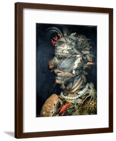 Water-Giuseppe Arcimboldo-Framed Giclee Print