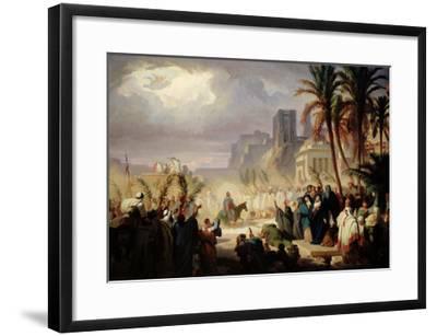 The Entry of Christ into Jerusalem-Louis Felix Leullier-Framed Giclee Print