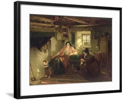 The Ray of Sunlight, 1857-Thomas Faed-Framed Giclee Print
