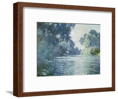 Branch of the Seine Near Giverny, 1897-Claude Monet-Framed Premium Giclee Print