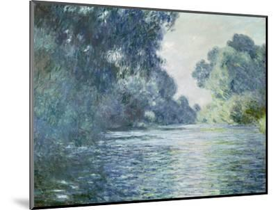 Branch of the Seine Near Giverny, 1897-Claude Monet-Mounted Premium Giclee Print