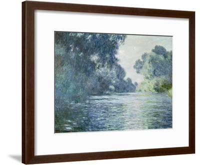 Branch of the Seine Near Giverny, 1897-Claude Monet-Framed Giclee Print