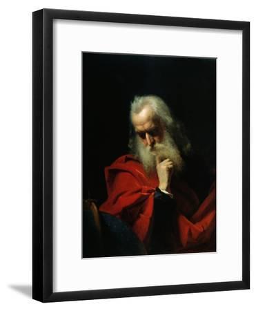 Galileo Galilei, 1858-Ivan Petrovich Keler-viliandi-Framed Giclee Print