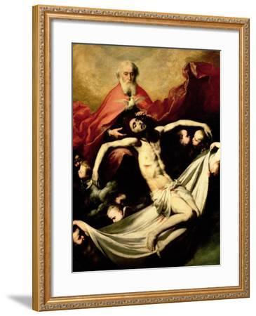 The Trinity, circa 1635-Jusepe de Ribera-Framed Giclee Print