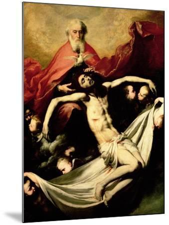 The Trinity, circa 1635-Jusepe de Ribera-Mounted Giclee Print