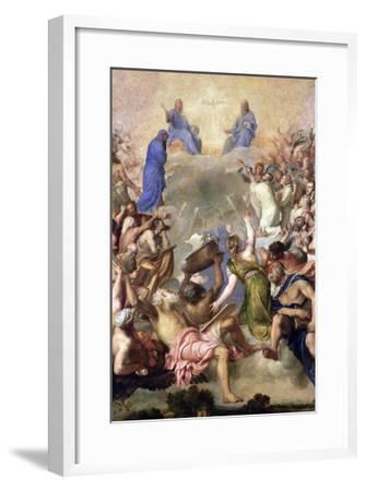 The Holy Trinity-Titian (Tiziano Vecelli)-Framed Giclee Print
