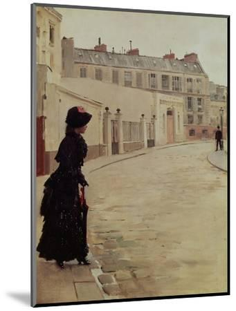 Waiting, Rue de Chateaubriand, Paris-Jean B?raud-Mounted Premium Giclee Print
