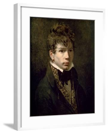 Portrait of the Young Ingres 1790s-Jacques-Louis David-Framed Giclee Print
