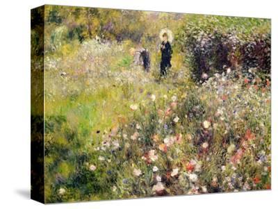 Summer Landscape-Pierre-Auguste Renoir-Stretched Canvas Print