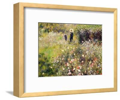 Summer Landscape-Pierre-Auguste Renoir-Framed Premium Giclee Print