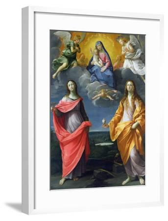 Madonna of the Snow-Guido Reni-Framed Giclee Print