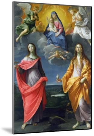 Madonna of the Snow-Guido Reni-Mounted Giclee Print