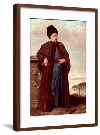 Richard Pococke in Oriental Costume, 1738-Jean-Etienne Liotard-Framed Giclee Print