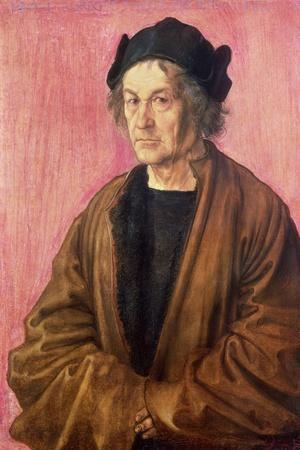 Albrecht Durer's Father, 1497-Albrecht D?rer-Stretched Canvas Print