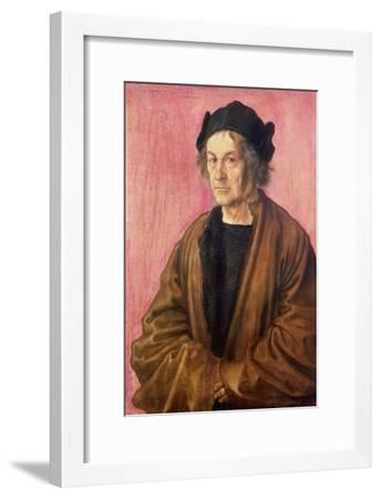 Albrecht Durer's Father, 1497-Albrecht D?rer-Framed Giclee Print