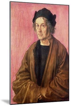 Albrecht Durer's Father, 1497-Albrecht D?rer-Mounted Giclee Print