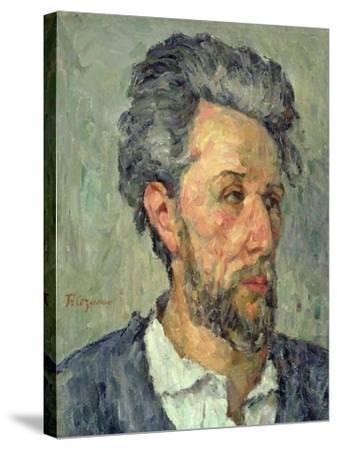 Portrait of Victor Chocquet, 1876-77-Paul C?zanne-Stretched Canvas Print