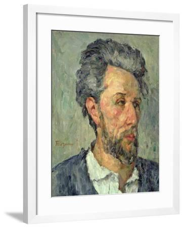Portrait of Victor Chocquet, 1876-77-Paul C?zanne-Framed Giclee Print