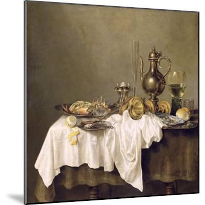 Breakfast with a Crab, 1648-Willem Claesz^ Heda-Mounted Giclee Print