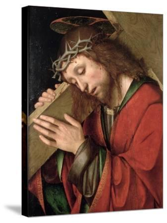 Christ Carrying the Cross-Gian Francesco De' Maineri-Stretched Canvas Print