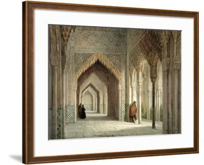 The Court Room of the Alhambra, Granada, 1853-Leon Auguste Asselineau-Framed Giclee Print