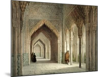 The Court Room of the Alhambra, Granada, 1853-Leon Auguste Asselineau-Mounted Giclee Print