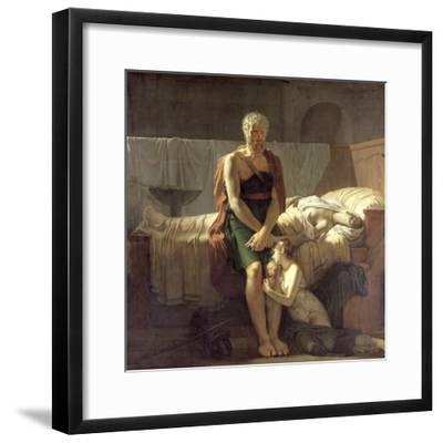 The Return of Marcus Sextus, 1799-Pierre Narcisse Gu?rin-Framed Giclee Print