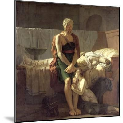 The Return of Marcus Sextus, 1799-Pierre Narcisse Gu?rin-Mounted Giclee Print
