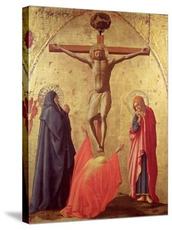 Crucifixion, 1426-Tommaso Masaccio-Stretched Canvas Print
