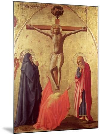 Crucifixion, 1426-Tommaso Masaccio-Mounted Giclee Print