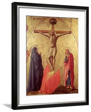 Crucifixion, 1426-Tommaso Masaccio-Framed Giclee Print