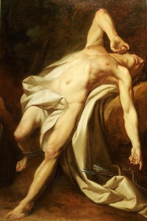 Saint Sebastian-Nicolas-guy Brenet-Stretched Canvas Print
