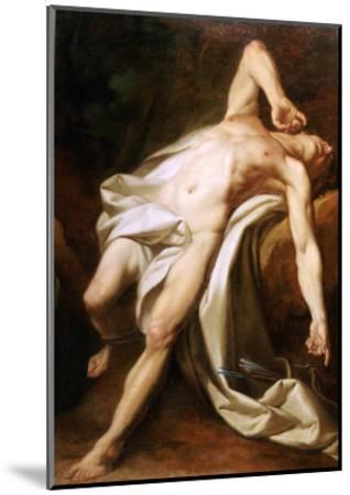 Saint Sebastian-Nicolas-guy Brenet-Mounted Giclee Print