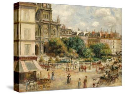 Place De La Trinite-Pierre-Auguste Renoir-Stretched Canvas Print