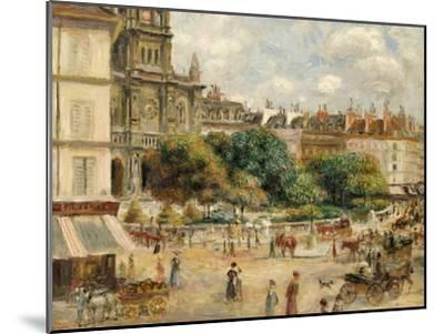 Place De La Trinite-Pierre-Auguste Renoir-Mounted Giclee Print