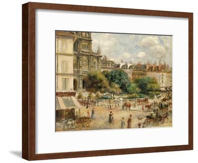 Place De La Trinite-Pierre-Auguste Renoir-Framed Giclee Print