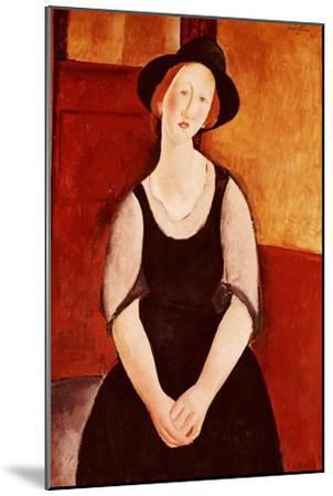 Portrait of Thora Klinckowstrom-Amedeo Modigliani-Mounted Giclee Print