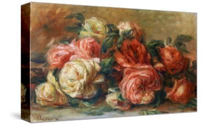 Discarded Roses-Pierre-Auguste Renoir-Stretched Canvas Print