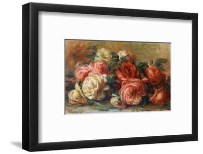 Discarded Roses-Pierre-Auguste Renoir-Framed Premium Giclee Print