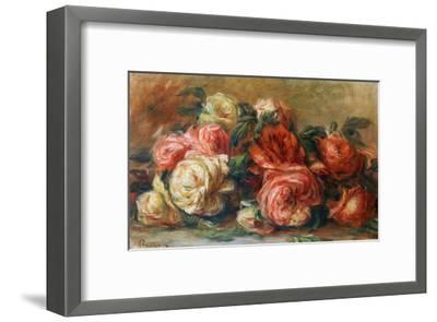 Discarded Roses-Pierre-Auguste Renoir-Framed Giclee Print