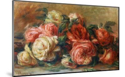 Discarded Roses-Pierre-Auguste Renoir-Mounted Giclee Print