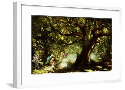 The Big Oak, Raheen, Co. Galway-George Russell-Framed Giclee Print