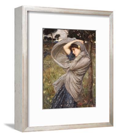 Boreas-John William Waterhouse-Framed Premium Giclee Print