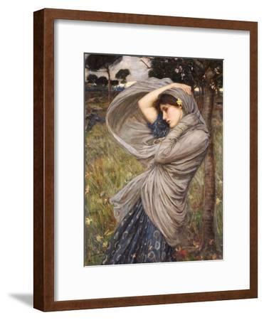 Boreas-John William Waterhouse-Framed Giclee Print