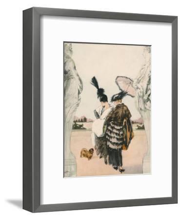 Harper's Bazaar--Framed Art Print